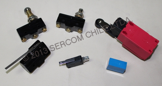 Relés y Microswitches